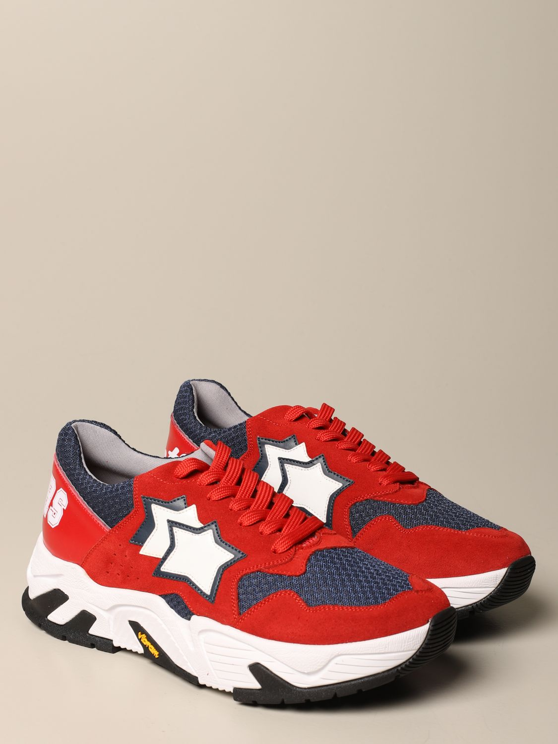 Sneakers Atlantic Stars: Sneakers herren Atlantic Stars rot 2