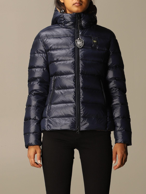 Jacket Blauer: Coat women Blauer green 1