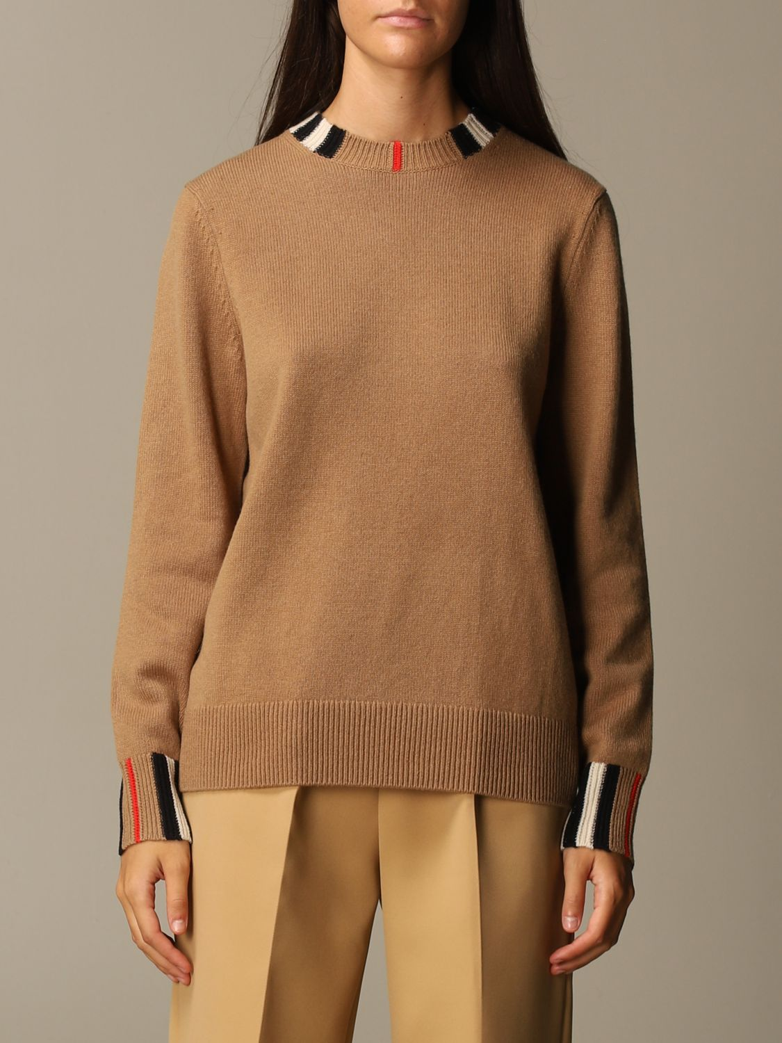 Jumper Burberry: Jumper women Burberry beige 1
