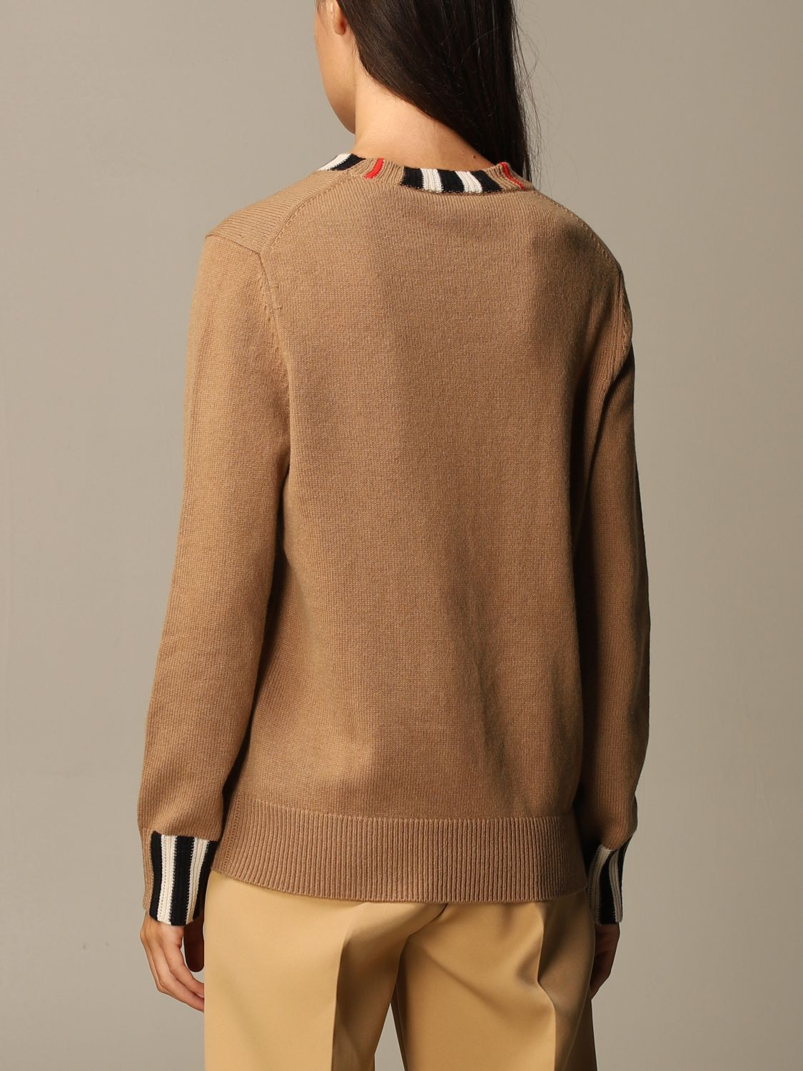 Jumper Burberry: Jumper women Burberry beige 2