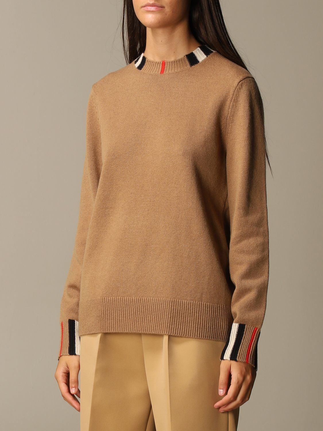 Jumper Burberry: Jumper women Burberry beige 3