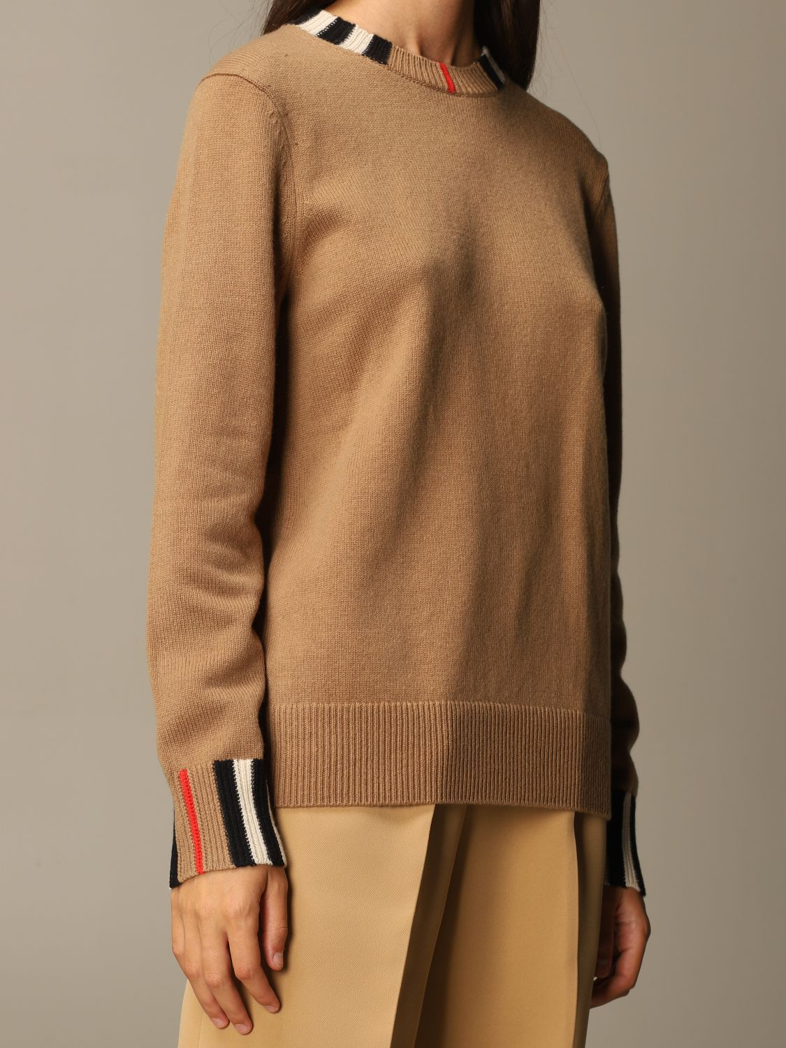 Jumper Burberry: Jumper women Burberry beige 4