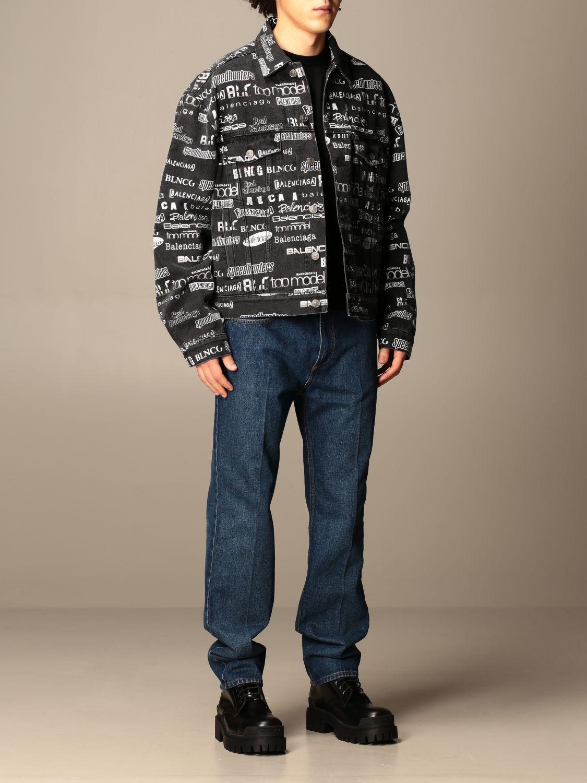 Куртка Balenciaga: Куртка Мужское Balenciaga черный 2
