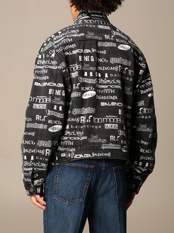 Куртка Balenciaga: Куртка Мужское Balenciaga черный 3