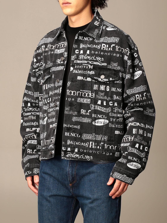 Куртка Balenciaga: Куртка Мужское Balenciaga черный 4