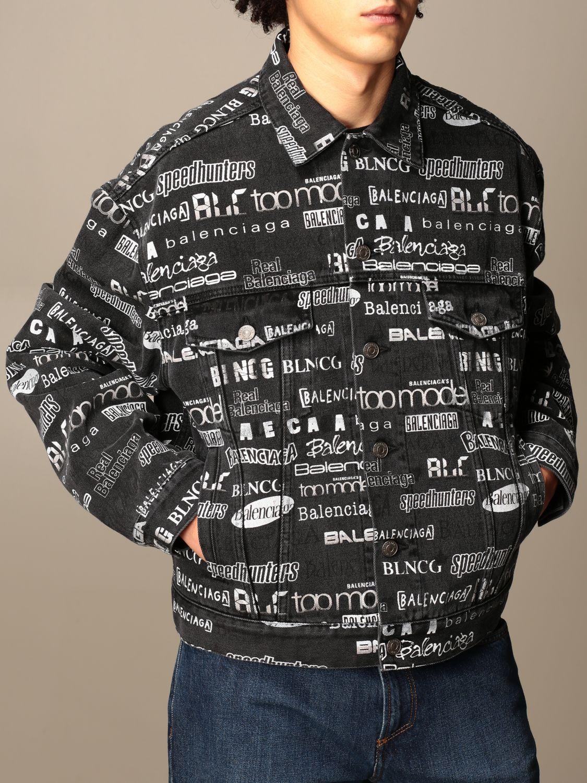 Куртка Balenciaga: Куртка Мужское Balenciaga черный 5