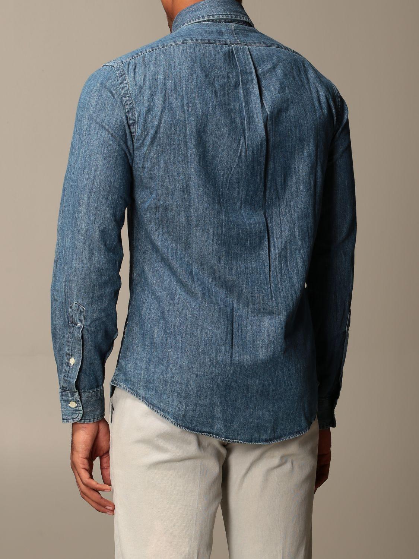 Shirt Polo Ralph Lauren: Shirt men Polo Ralph Lauren denim 2