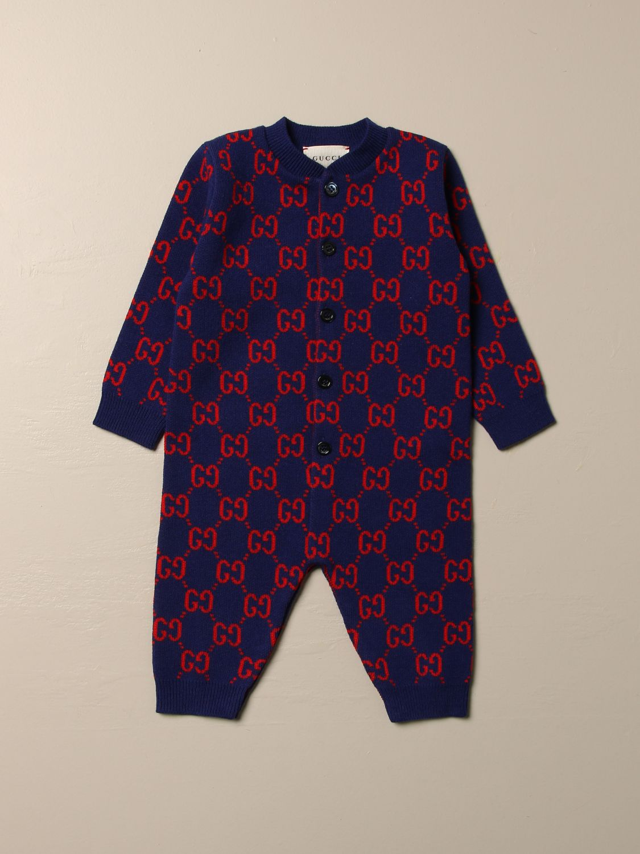 Combinaisonn Gucci: Combinaisonn enfant Gucci bleu 1