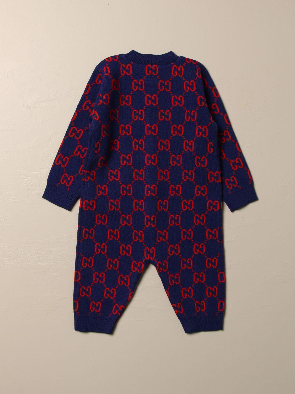Combinaisonn Gucci: Combinaisonn enfant Gucci bleu 2