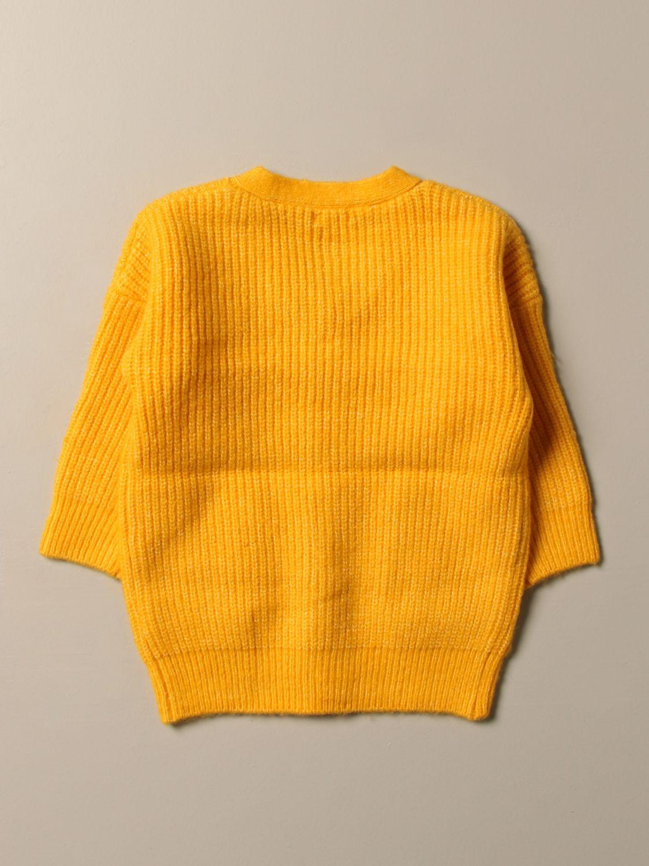 Maglia Billieblush: Cardigan Billieblush con patch logo giallo 2