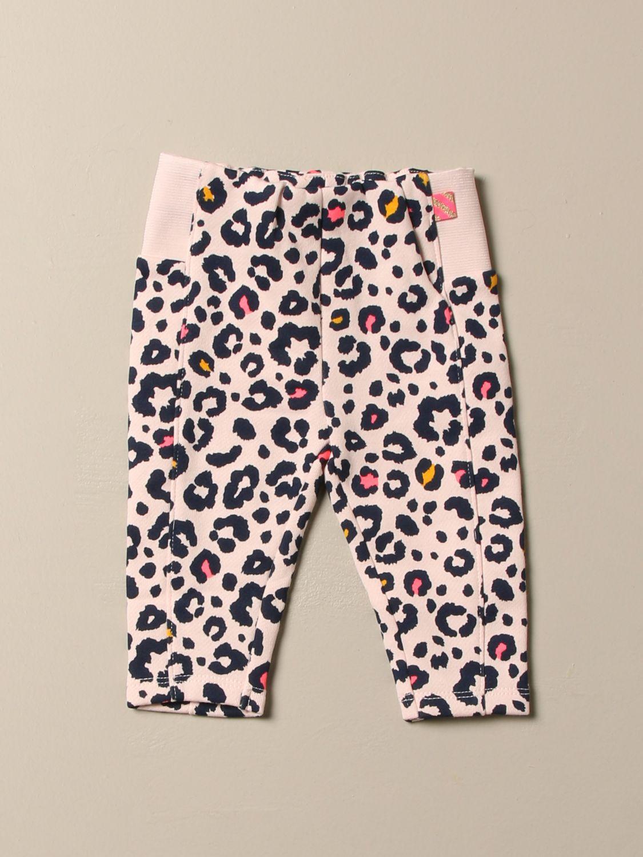 Pantalón Billieblush: Pantalón niños Billieblush rosa 1