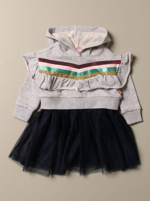 Dress Billieblush: Dress kids Billieblush grey 1