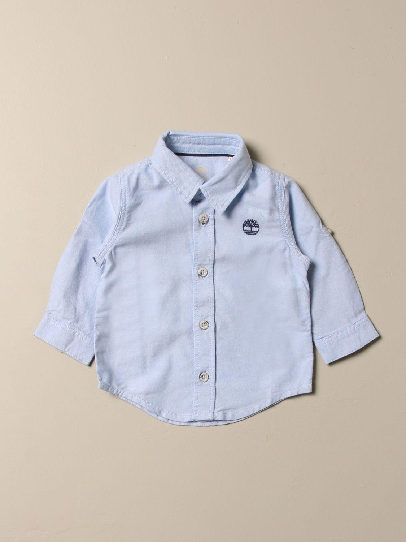 Chemise Timberland: Chemise enfant Timberland bleu ciel 1