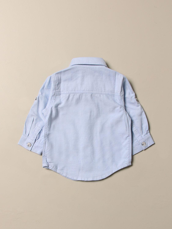 Chemise Timberland: Chemise enfant Timberland bleu ciel 2