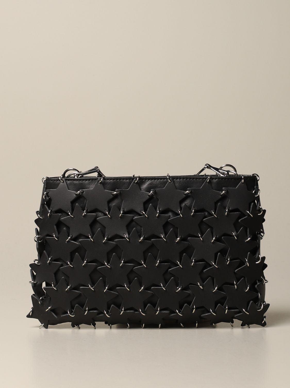 Сумка через плечо Paco Rabanne: Наплечная сумка Женское Paco Rabanne черный 1