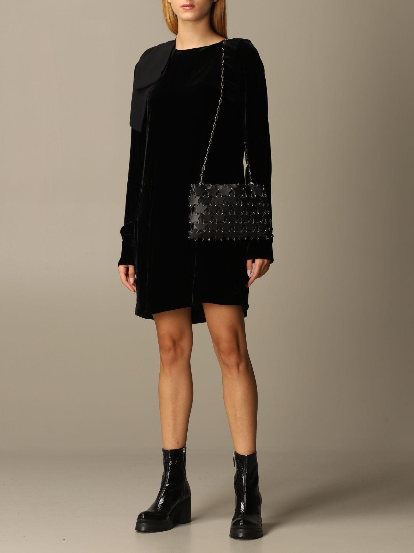 Сумка через плечо Paco Rabanne: Наплечная сумка Женское Paco Rabanne черный 2
