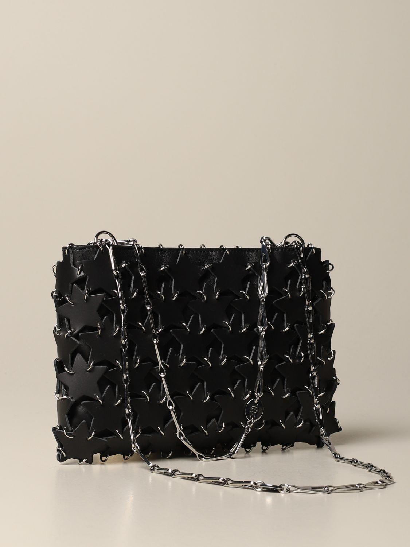Сумка через плечо Paco Rabanne: Наплечная сумка Женское Paco Rabanne черный 3