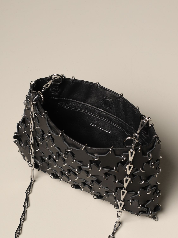 Crossbody bags Paco Rabanne: Shoulder bag women Paco Rabanne black 5