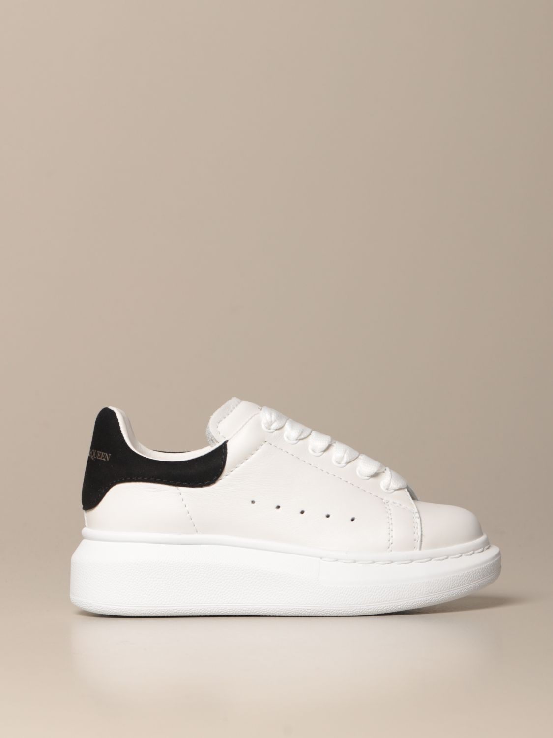Shoes Alexander Mcqueen: Shoes kids Alexander Mcqueen black 1