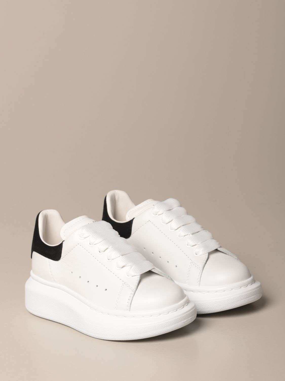 Shoes Alexander Mcqueen: Shoes kids Alexander Mcqueen black 2