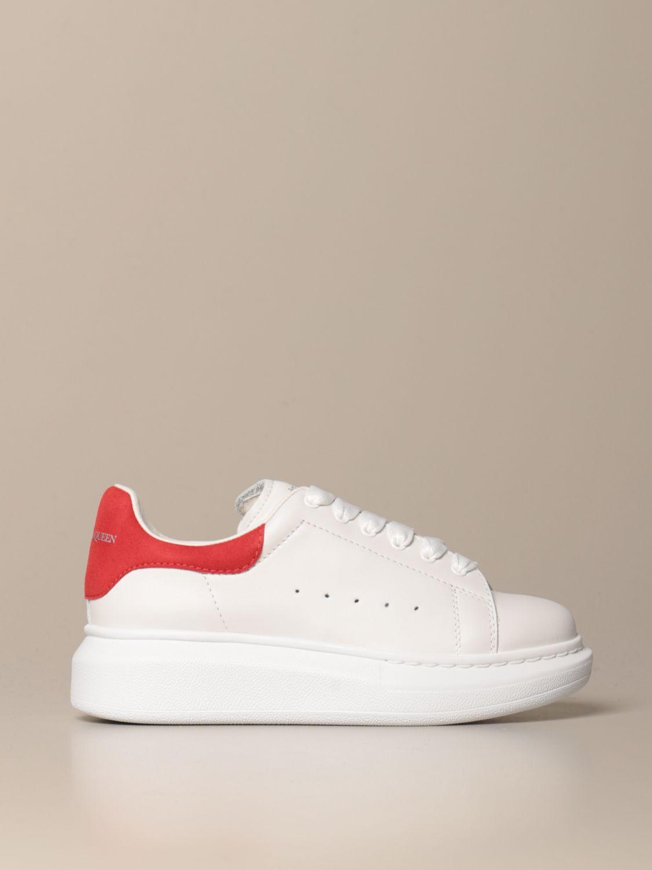Zapatos Alexander Mcqueen: Zapatos niños Alexander Mcqueen rojo 1