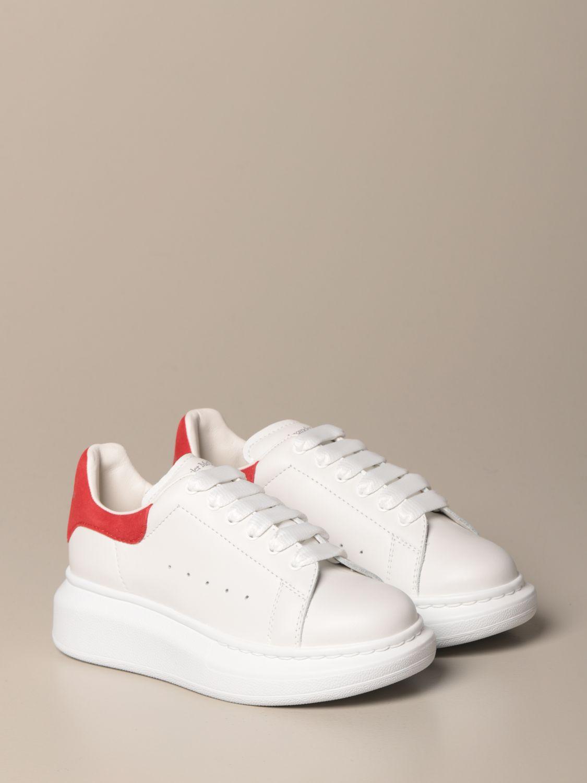 Zapatos Alexander Mcqueen: Zapatos niños Alexander Mcqueen rojo 2