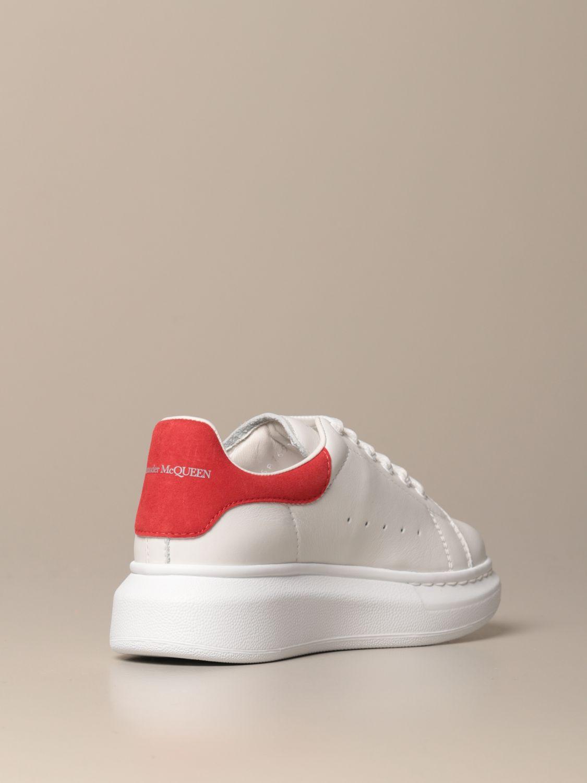 Zapatos Alexander Mcqueen: Zapatos niños Alexander Mcqueen rojo 3