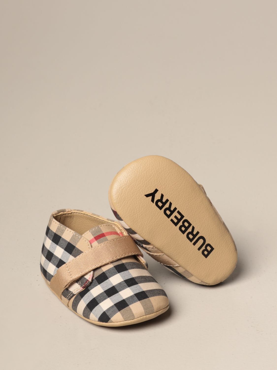 Shoes Burberry: Shoes kids Burberry beige 2