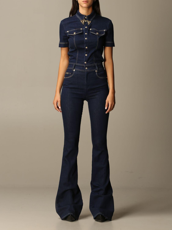 Jumpsuit Versace Jeans Couture: Jumpsuit damen Versace Jeans Couture denim 1