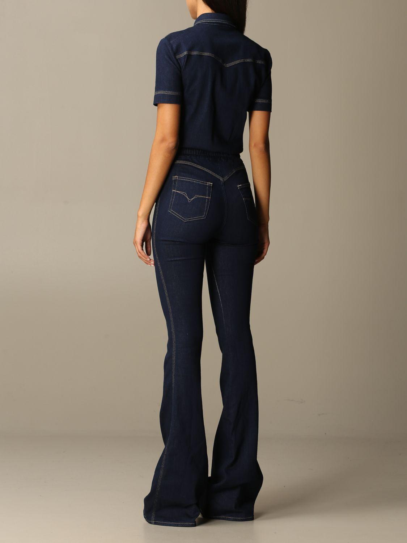 Jumpsuit Versace Jeans Couture: Jumpsuit damen Versace Jeans Couture denim 2