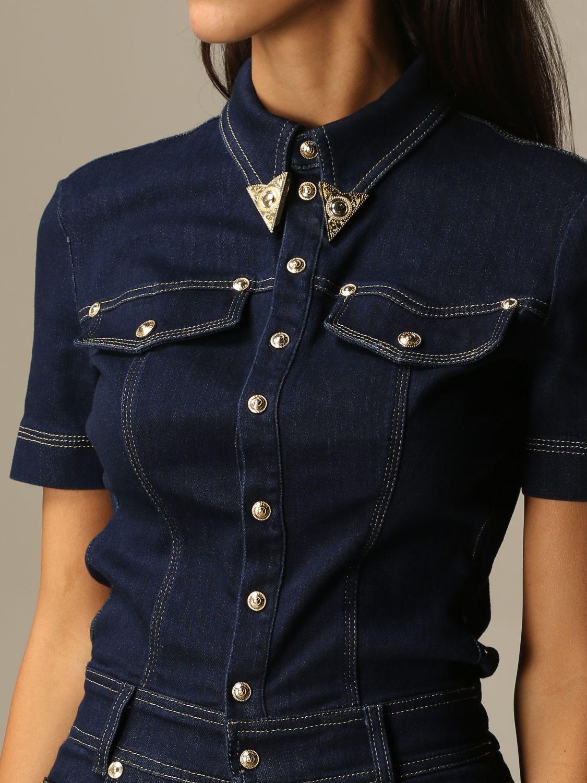 Jumpsuit Versace Jeans Couture: Jumpsuit damen Versace Jeans Couture denim 3