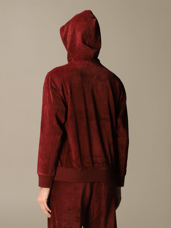 Sweatshirt Carhartt: Sweatshirt damen Carhartt burgunderrot 3