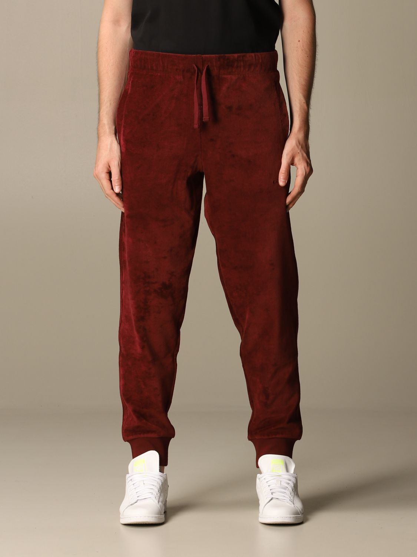 Pants Carhartt: Pants men Carhartt burgundy 1