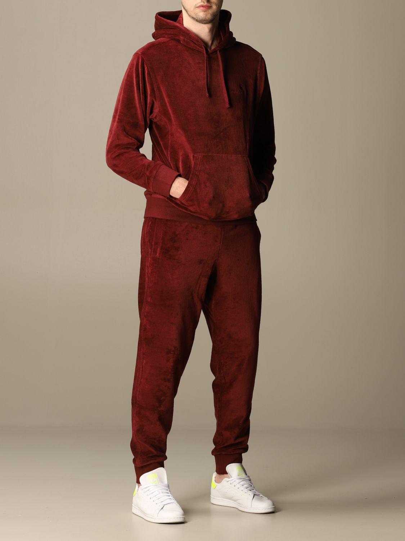 Pants Carhartt: Pants men Carhartt burgundy 2