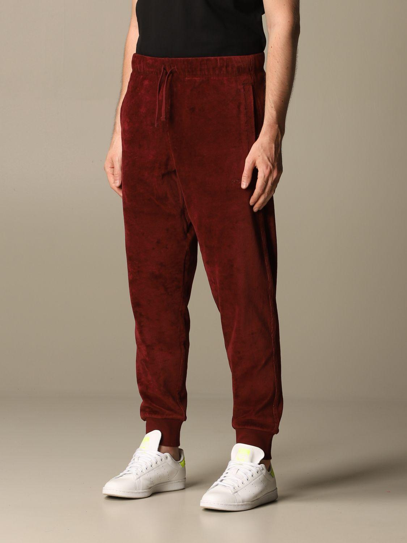 Pants Carhartt: Pants men Carhartt burgundy 4