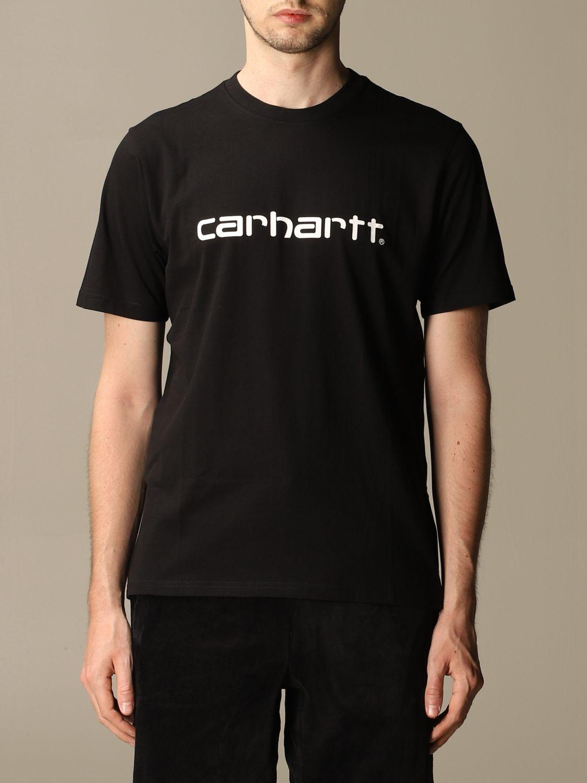 T-Shirt Carhartt: T-shirt herren Carhartt schwarz 1 1