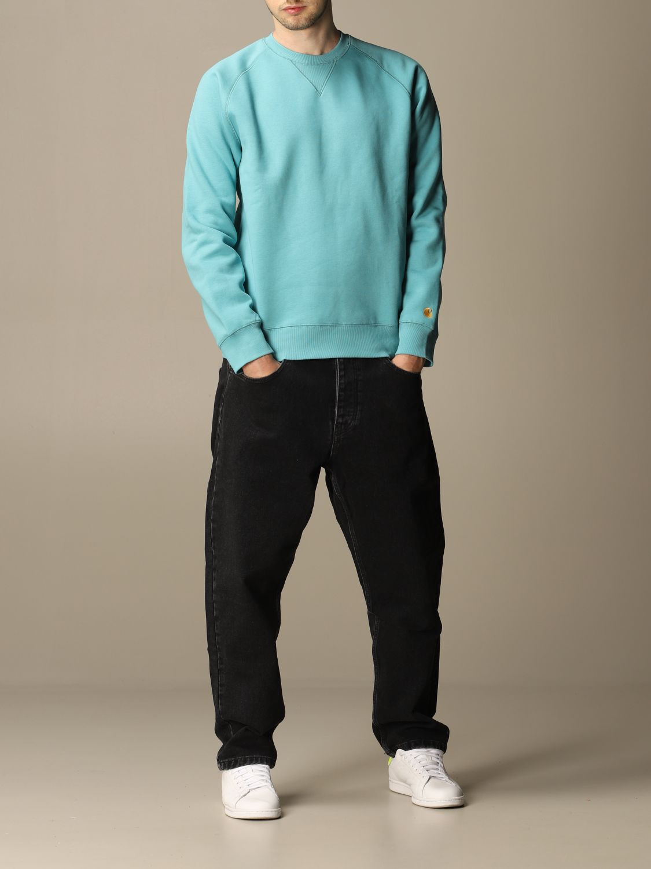 Sweatshirt Carhartt: Sweatshirt men Carhartt turquoise 2