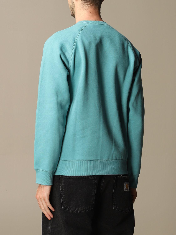 Sweatshirt Carhartt: Sweatshirt men Carhartt turquoise 3