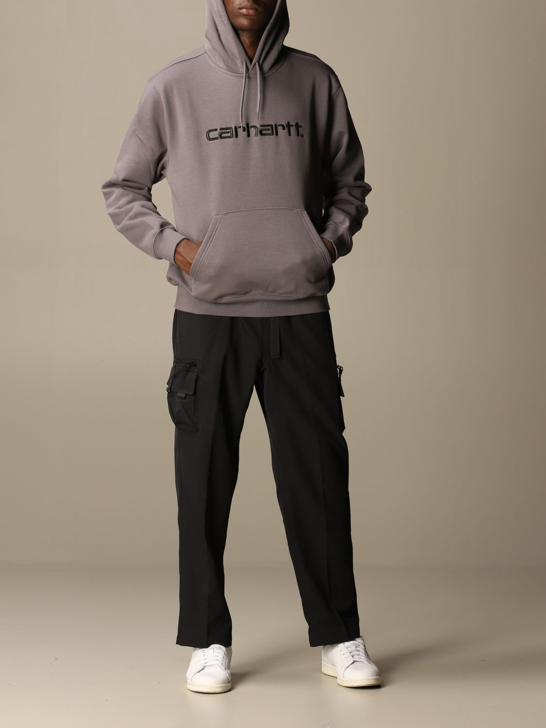 Sweatshirt Carhartt: Sweatshirt men Carhartt black 1 2
