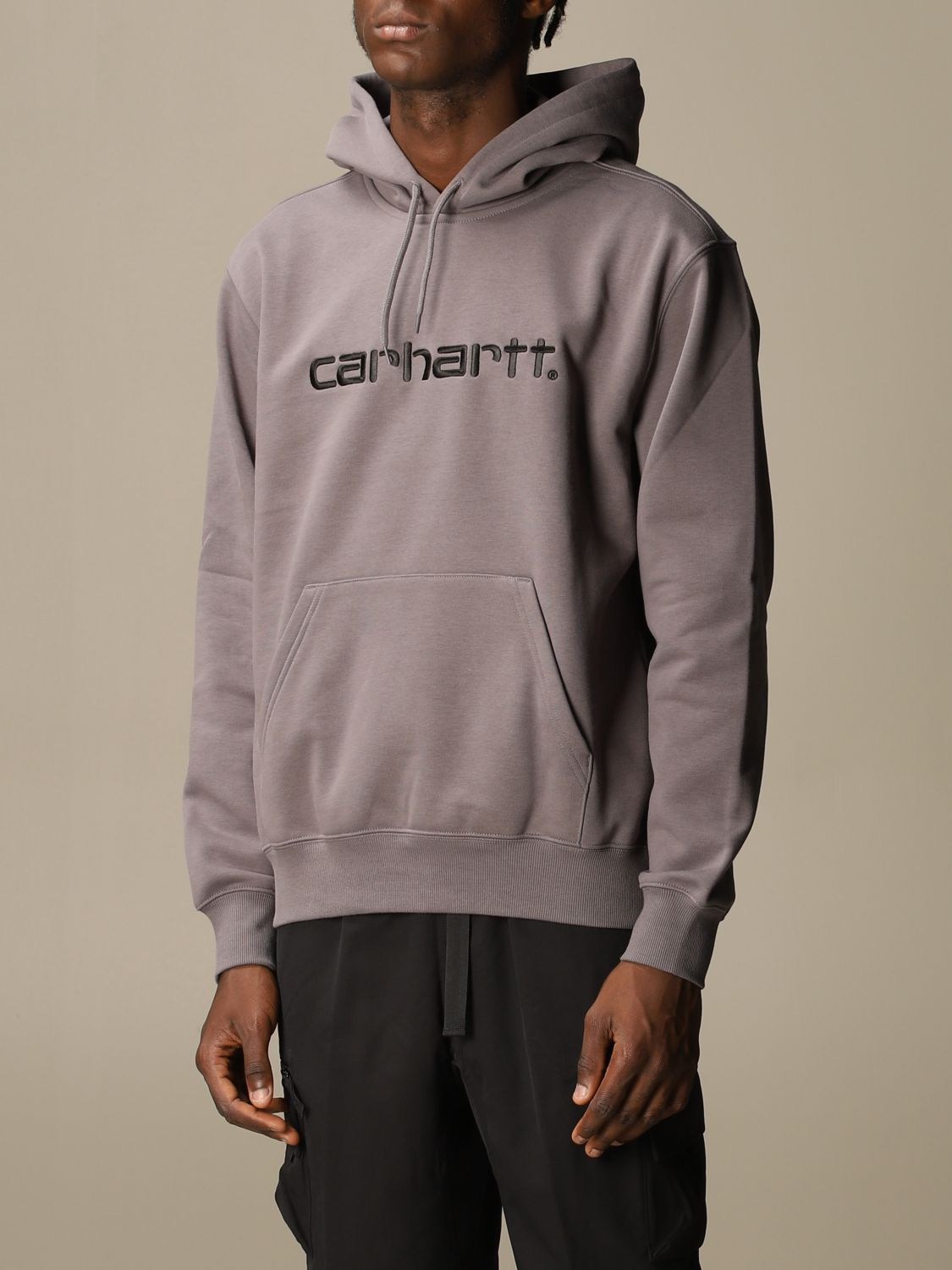 Sweatshirt Carhartt: Sweatshirt men Carhartt black 1 4