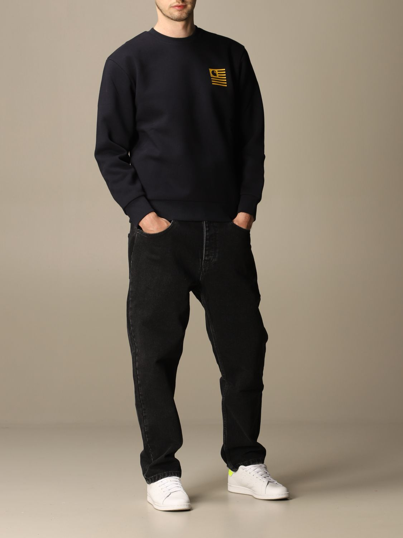 Sweatshirt Carhartt: Sweatshirt women Carhartt navy 2