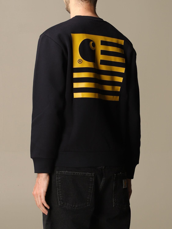 Sweatshirt Carhartt: Sweatshirt women Carhartt navy 3