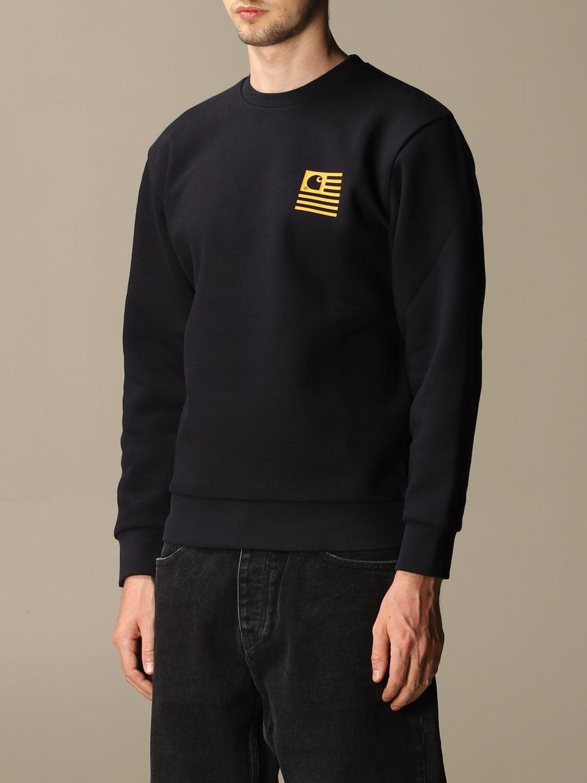 Sweatshirt Carhartt: Sweatshirt women Carhartt navy 4