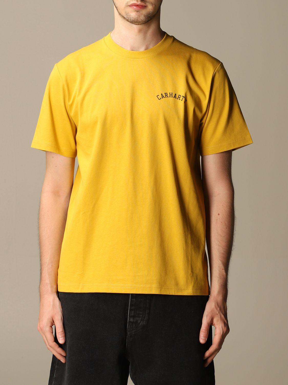 T-shirt Carhartt: Carhartt cotton t-shirt with logo black 1 1
