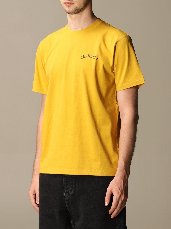 T-shirt Carhartt: Carhartt cotton t-shirt with logo black 1 3