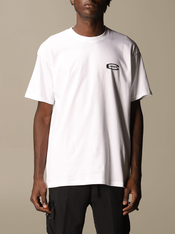 T-Shirt Carhartt: T-shirt herren Carhartt weiß 1
