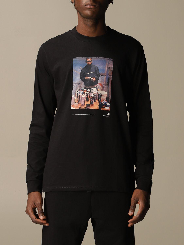 T-Shirt Carhartt: T-shirt herren Carhartt schwarz 1