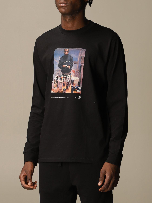 T-Shirt Carhartt: T-shirt herren Carhartt schwarz 3