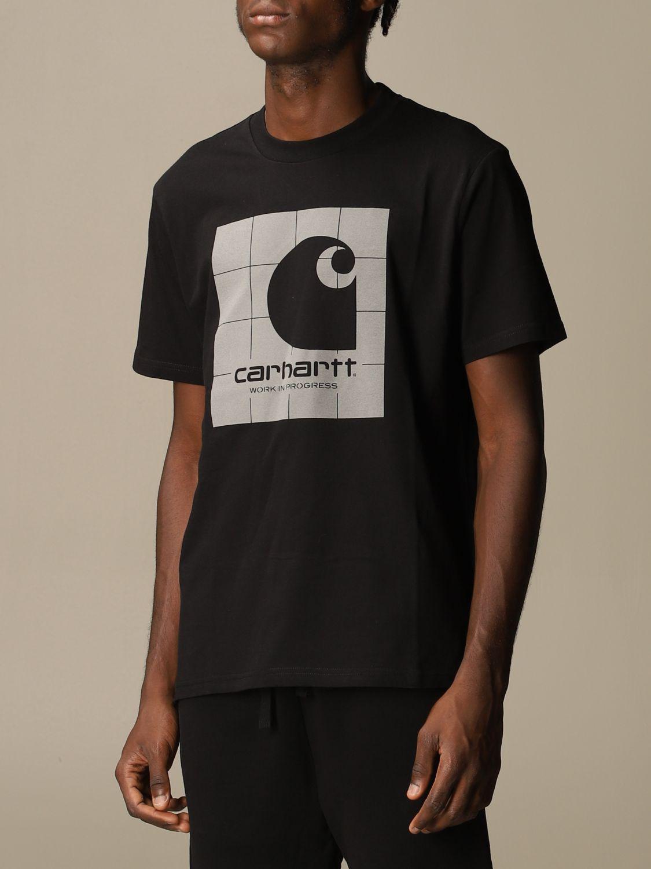 T-shirt Carhartt: Carhartt short-sleeved T-shirt with logo black 3