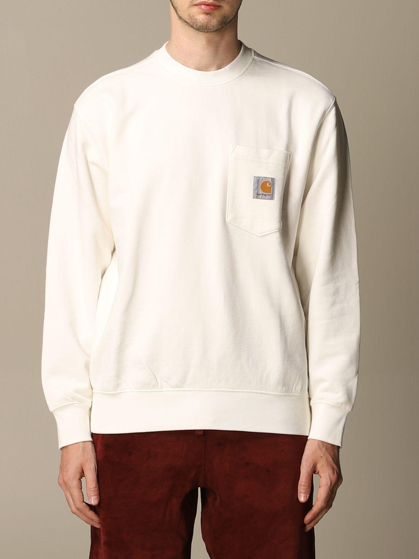 Sweatshirt Carhartt: Sweatshirt herren Carhartt amarant 1